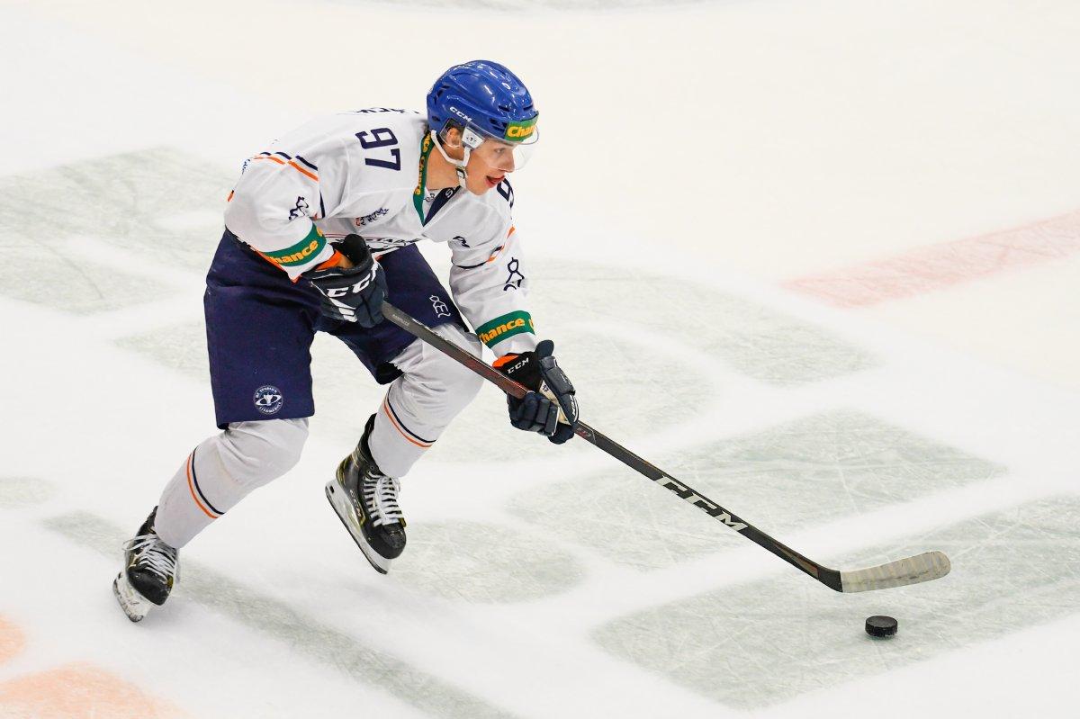Josef Koláček je s deseti body nejproduktivnějším juniorem ligy.
